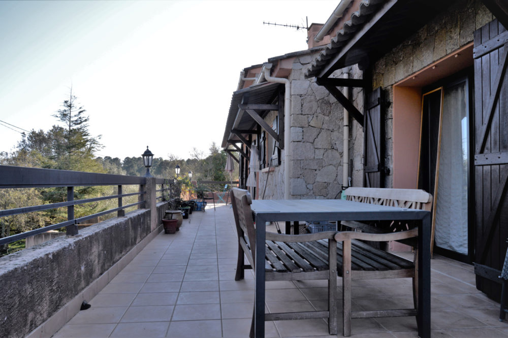 terrasse étage